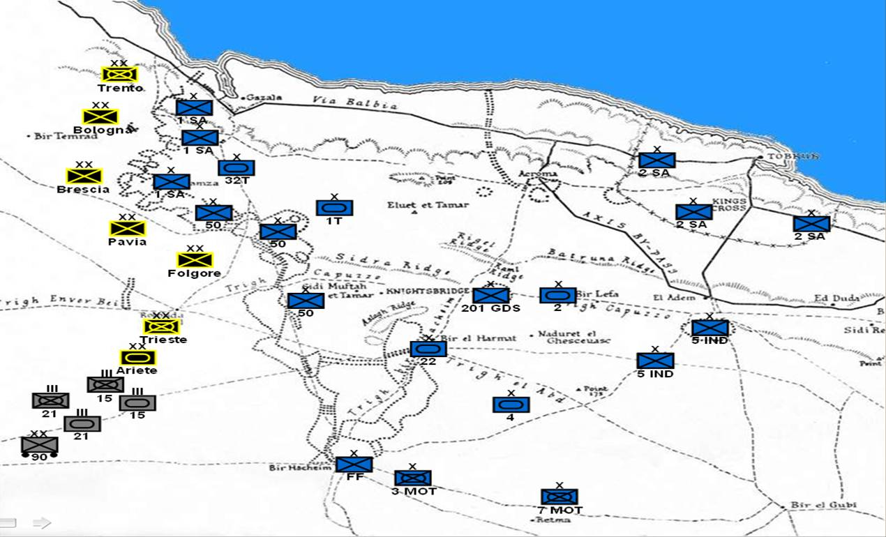 Operation crusader 1941 the art of battle battle of raphia 217 bc another battle fought in modern day egypt sciox Choice Image